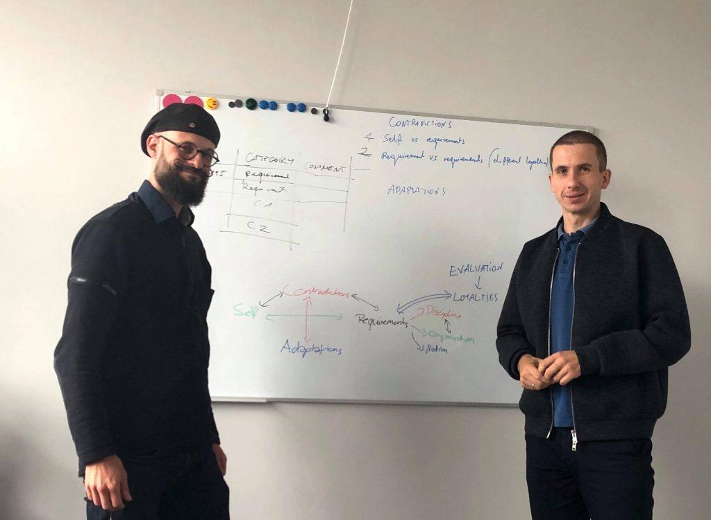 Michael Ochsner and Emanuel Kulczycki